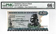 Zimbabwe P.4a PMG 66