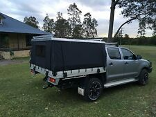 Ute Hard Top  Alloy and  Canvas Canopy