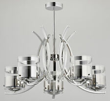 ALFA - INDIRA 23115 - Modern Chandelier - Luxurious Ceiling Light - Ceiling Lamp