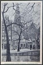 Esperanto – PK 21-a Kongreso de SAT Amsterdam 1948 – Voorburgwal