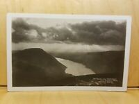 A17) Postcard No. 355 Abraham's Series Sunset Over Wastwater From Scawfell Pike