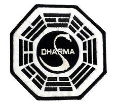 Lost - Dharma Swan Patch - Uniform Patch Aufnäher-  neu - zum aufbügeln