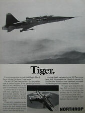 1/1974 PUB NORTHROP F-5E TIGER II INTERNATIONAL FIGHTER US AIR FORCE USAF AD