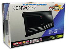 New KENWOOD KAC-9106D 2000 Watt Max Car Monoblock Amplifier Mono Sub Amp KAC9106