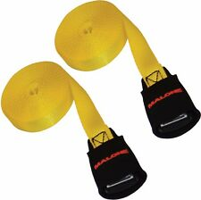 Malone 18 Feet Canoe and Kayak Cam Buckle Load Straps 2 Pack