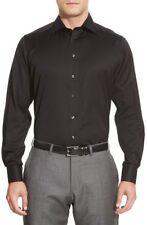 NEW! 2018 ETON Dress Shirt crispy Black Slim Fit 16 1/2  $285.00