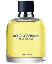 Dolce & Gabbana POUR HOMME Eau de TOILETTE  MEN 4.2 oz / 125 ml