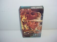 Indiana Jones and the Temple of Doom VHS Video Tape Movie