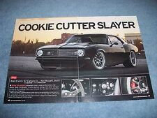 """1967 Chevy Camaro Custom Pro Touring Article """"Cookie Cutter Slayer"""""""