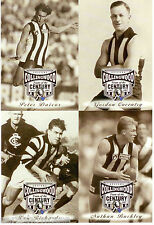 1997 AFL Collingwood Team Of The Century Collectable Photo Card Album Set (64)