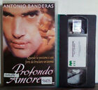 VHS FILM Ita Drammatico PROFONDO AMORE banderas cvc video ex nolo no dvd(VHS28)