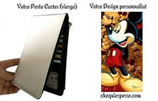 Minnie Mickey Mouse 007 disney Porte Cartes personnalisable card holder