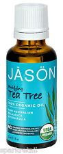 Jason Purifying Australian TEA TREE 100% ORGANIC Oil Melaleuca Alternifolia 30ml