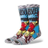 Genuine Stance Iron Man Comic Socks - UK 8.5-11.5
