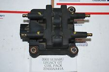 2002 SUBARU LEGACY GT COIL PACK 22433AA41A OEM 6/15