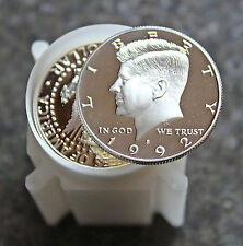 (20) 1992 S Kennedy Proof DCAM Silver 1 Roll **90% Silver**