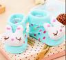 Newborn Baby Girl Boy Anti-slip Socks Cartoon Slipper Warm Shoes Boots 0-1 Year