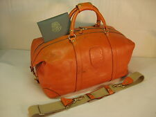 Ghurka Cavalier II No. 97 Leather Duffle Bag Tote Carry On Satchel Luggage