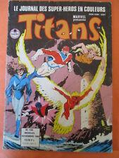 TITANS N)° 130 novembre 1989  Excalibur Avengers