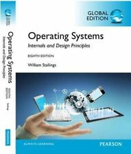 Operating Systems: Internals and Design Principles, Global Edition by William Stallings (Mixed media product, 2014)