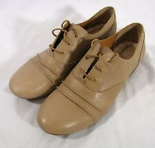 Born Oxford Shoes Womens Size 9.5 M Tan Style D36502 Lace Up Casual Walking