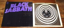 BLACK SABBATH MASTER OF REALITY UK VERTIGO SWIRL LP 1971 1ST PRESS WITH POSTER
