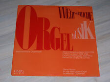 Wolfgang stock Meier-J.L. cancer-orgue OEUVRES I/monastère grauhof/psallite-LP