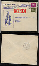Netherlands   hunting ad cover express  1951      SSS0329