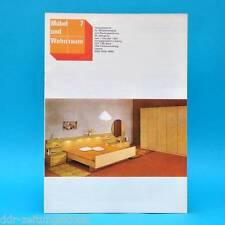 DDR Möbel und Wohnraum 7/1983 Fachzeitschrift Tischlermeister Rolf Lang Leipzig