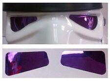 Película suave Reflectante Lentes en púrpura-hecho por un casco STORMTROOPER