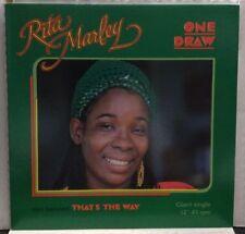 "Rita Marley One Draw/Thats The Way 12"" Record Single 5003"