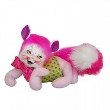 """Cheshire Cat Alice in Wonderland 6"""" Poseable Figures New Annalee 2015 Series"""