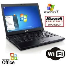 Dell Laptop Latitude Windows 7 Core 2 Duo 4GB 1TB Notebook Computer +MS OFFICE
