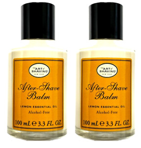 The Art of Shaving After-Shave Balm, Lemon, 3.3 oz (2 Pack)