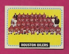 1964 TOPPS # 88 HOUSTON OILERS TEAM PHOTO  CARD (INV# A5049)