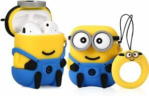 2 Pack Minions Dave AirPods Case By Illumination - 1st & 2nd Generation AirPods