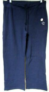 Dallas Cowboys Womens Large Embroidered Elastic Waist Sweatpants J1 683