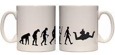 Juko Evolution Ape To Man Sky Diver Evo Tea Coffee Sky Diving Cup