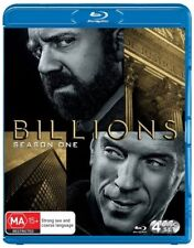 Billions : Season 1 (Blu-ray, 2016, 4-Disc Set)