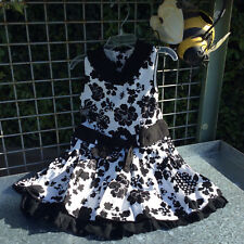 Trish Scully Black & White Flapper Dress 2T NWT!