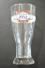 Beautiful Kronenbourg Embossed 1664 Pint Glass Beer Euro Pale Lager France