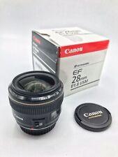 Canon EF 28mm f/1.8 AF USM Lens MINT