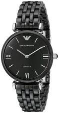 Emporio Armani Ceramic Case Round Wristwatches