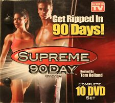 Supreme 90 Day System Complete 10 DVD Set Fitness Workout DVD Get Ripped in days
