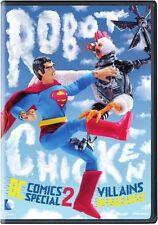Robot Chicken Dc Comics Special 2: Villains In (2014, REGION 1 DVD New)