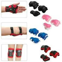 Elbow Knee Wrist Protective Guard Safety Pads Bicycle Young Adult And Teen LJ