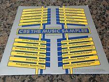 "MICHAEL JACKSON - SHAKIN STEVENS LP "" CBS Music Sapler "" Canada 1983' ** PROMO *"