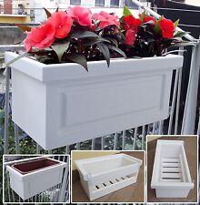 Fioriera da ringhiera per piante ebay for Portavasi da balcone regolabili