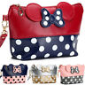 Travel Cosmetic Bags Cartoon Minnie Mouse Cute Zipper Makeup Bag Pouch Handbag