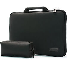 "BN 10.1"" Laptop Case Sleeve Pouch MemoryFoam Protection Bag Synthetic Leather SL"